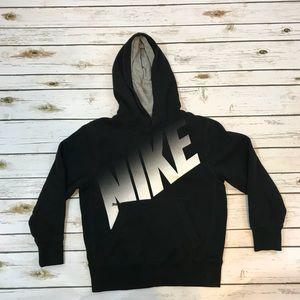 Nike Black and White Hoodie